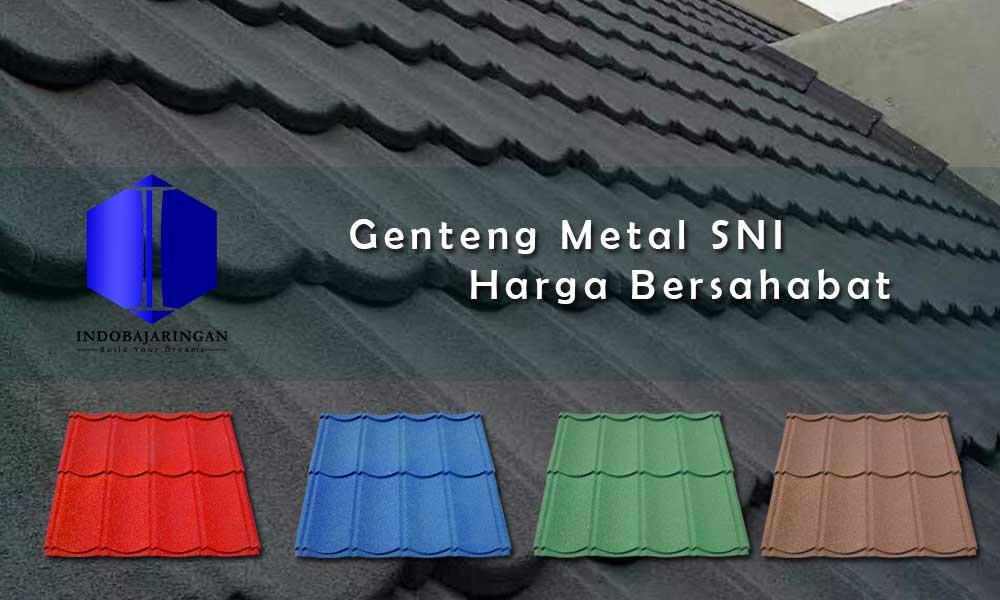 Harga Genteng Metal Pasir