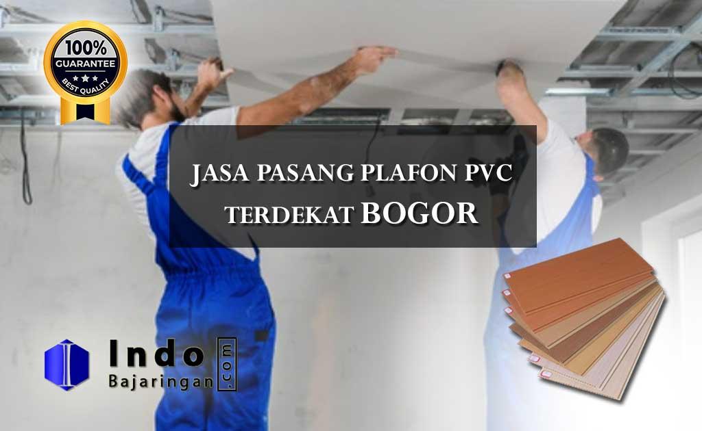 Harga Plafon PVC Terpasang Bogor Terdekat