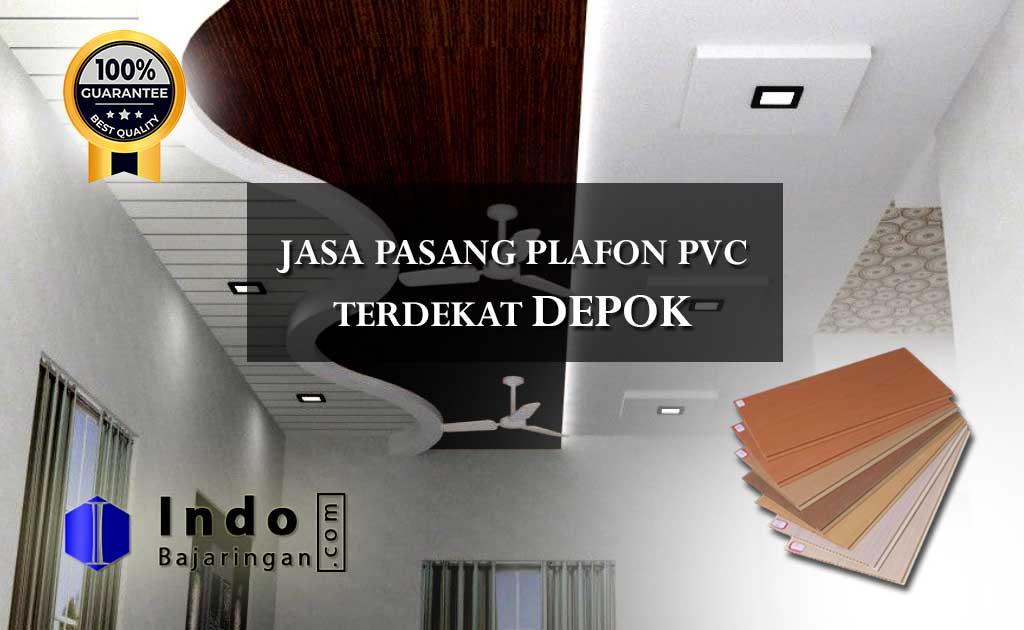 Harga Plafon PVC Terpasang Depok Terdekat